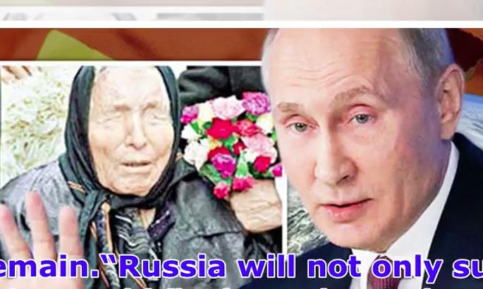 Video: aklā gaišreģe Vanga jau pirms 40 gadiem zināja visu par Vladimiru Putinu?