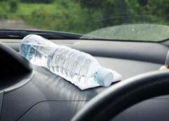 Kāpēc nevajag atstāt mašīnā ūdens pudeli jo īpaši vasarā