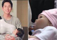 """Japāņu tēti tagad var barot bērnu """"ar krūti"""""""