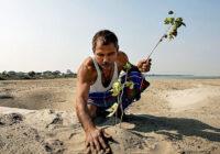 Viņš jau kopš 1979. gada tuksnesī stāda kokus. Noskaidrojām, kā tur izskatās tagad ( + FOTO)