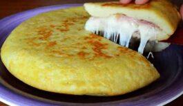 Itāļu kartupeļu pīrāgs ar šķiņķi un sieru – to pagatavot nav grūti, un rezultāts noteikti jūs iepriecinās!