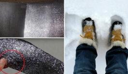 Kā izdarīt tā, lai nesaltu kājas: vienkāršs veids, kas mani glābj ziemā!