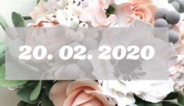 20.02.2020 – ko šajā īpašajā dienā mums sola četru divnieku savienība mūsu nākotnei. Īpaši spīdoši nebūs!
