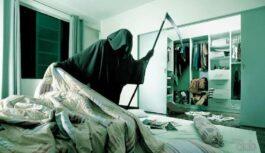 Ja neiedegsi sveci pie gultas, kur cilvēks miris vari sev nezinot piesaukt nelaimi guļot tajā