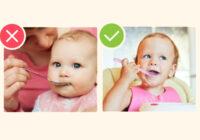 Ja esi laba mamma, tad noteikti nepieļauj šīs bērna ēdināšanas rupjās kļūdas